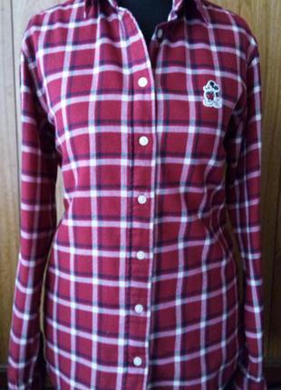 Брендовая рубашка uniqlo