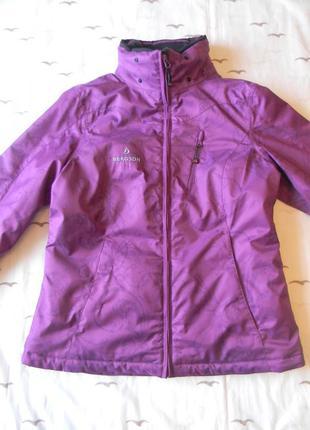 Женская лыжная куртка bergson supra-tex р.40(l)