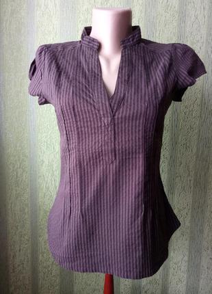 Блуза с коротким рукавом h&m