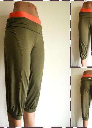 Esprit  ®  эластичные спортивные бриджи для бега и фитнеса  размер: 34 / 6 / xs (подойдут и на s)