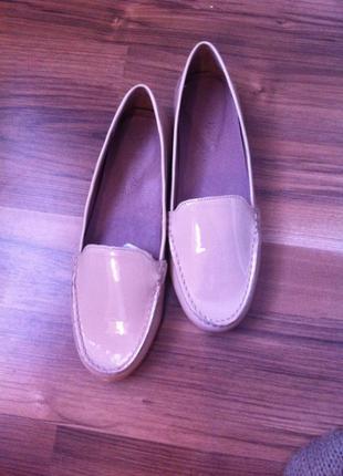 Туфли next нежные пудровые