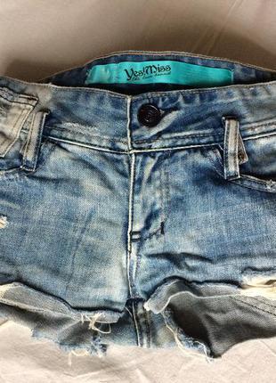 Джинсовые шорты размера xs