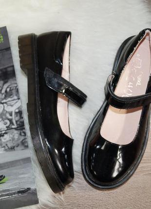 (40р./26см) next school! кожа! стильные туфли