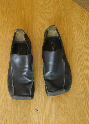 Туфлі шкіряні розмір 41,5-42 стелька 27,5 см clarks