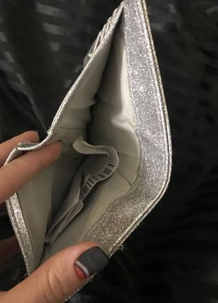 Сріблястий гаманець
