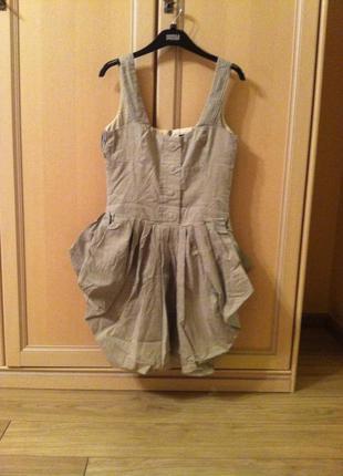 Оригинальное платье дорогого бренда allsaints р.34-36