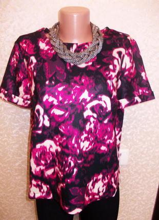 Яркая блуза  топ кроп от dorothy perkins