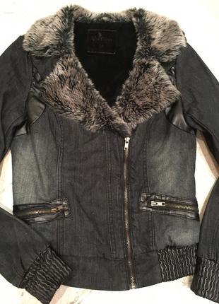 Обалденная джинсовая курточка yes miss