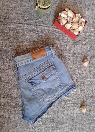 Джинсовые шорты размер 8 от h&m