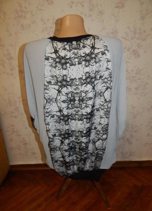 Bershka блузка шифоновая стильная модная рм