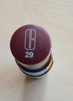 Стойкая матовая помада clinique клиник  long last lipstick    тон 29 heather moon тестер