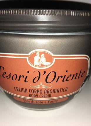Крем для тела tesori doriente fior di loto (лотос) 300 мл