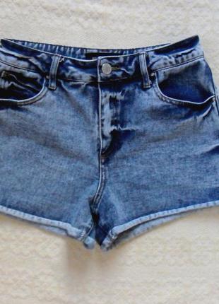 Высокие джинсовые шорты варенки river island, 38 размера