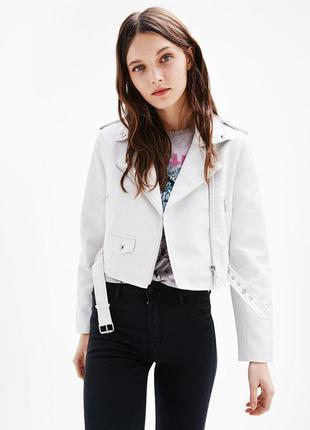 Куртка в байкер стиле bershka new 2017