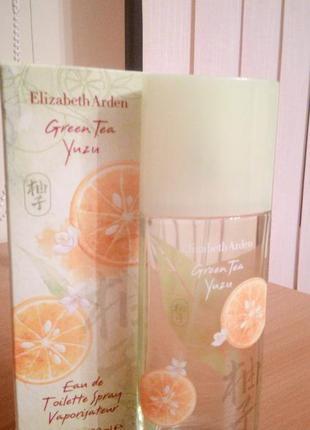 Elizabetharden green tea yuzu,edt 100 ml