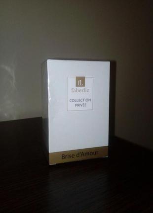 Faberlic парфюмерная вода для женщин collection privee brise d'amour