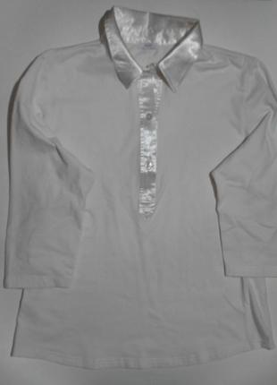Футболка-блуза(цвет молочный)