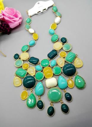 Колье, ожерелье, бижутерия под  платье или рубашку