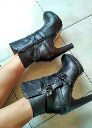 Оригинал ботинки кожа фирменные bronx