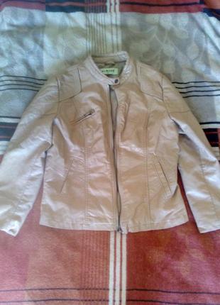 Супер кожаная курточка