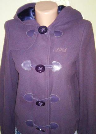 Супер цена! лёгкое кашемировое пальто куртка killah miss sixty
