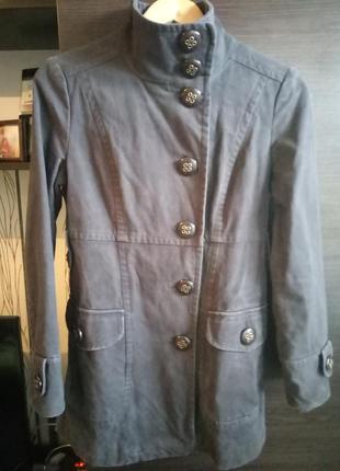 Пальто коричневое mango