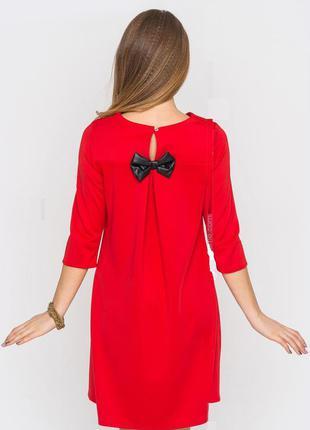 Красное платье molegi