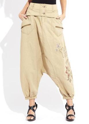 Шикарные брюки-афгани(алладины, зуавы ) из эко волокна. стильно и комфортно.