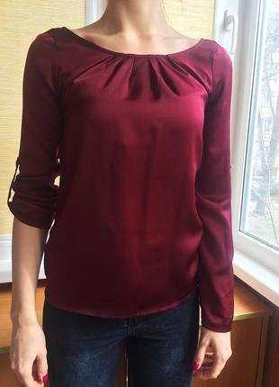 Блузка марсала suiteblanco