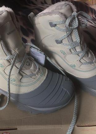 Ботинки merrell snowbound mid wtpf-оригинал 38,5 , 25см.