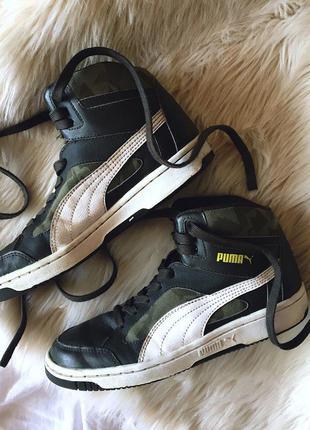 Завышенные кроссовки puma оригинал