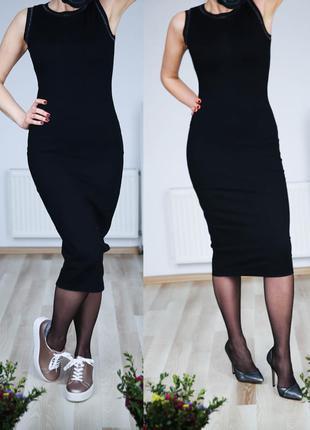 Утягивающие платье с интересной спинкой,новое, р.s-m