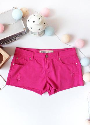 Sale!!! красивые розовые, джинсовые шорты yes yes