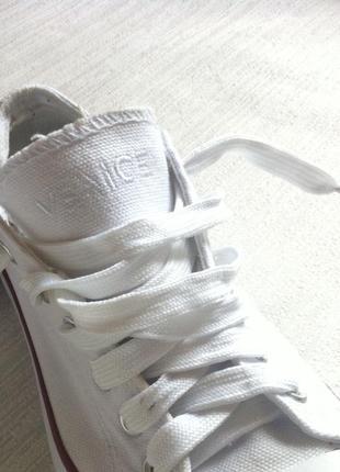 Кеды кросовки venice белые