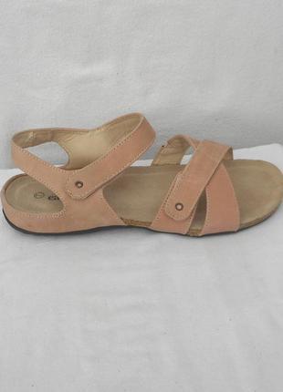 Босоножки из натуральной замши сабо сандалии easyster