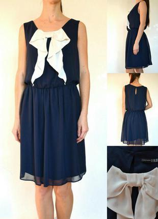 Шифоновое платье с подкладкой 20(xxxl)