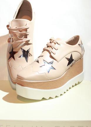 Ботинки на платформе stella mccartney стелла маккартни