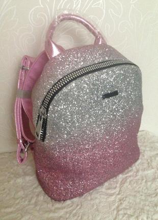 Очень красивый , гламурный, женский рюкзак velina fabbiano , новый с бирками в наличии