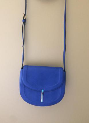 Новая синяя сумочка из reserved
