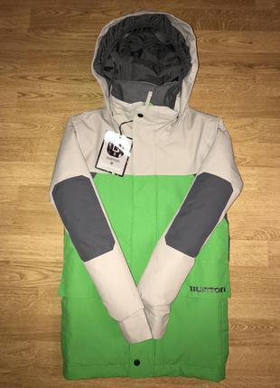 Лыжная куртка burton (утепленная)