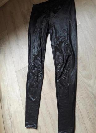 Лосины штаны под кожу