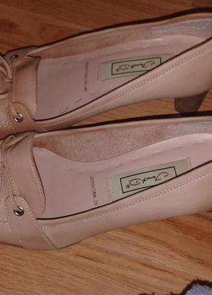 Кожаные туфли 36 размер