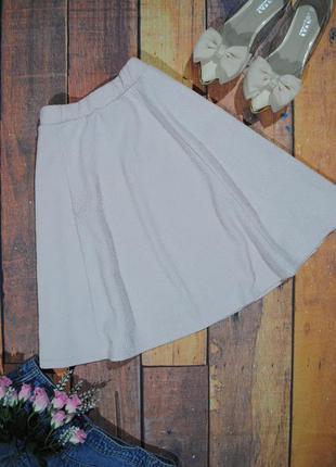Фактурная юбка-солнце river island размер xs/s