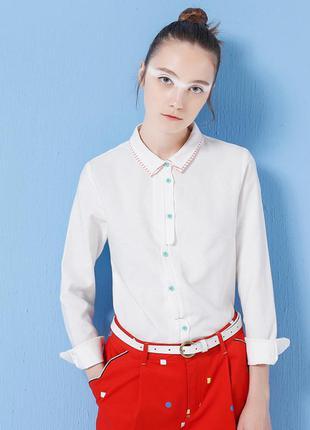 Рубашка плотный хлопок toyouth размер 38 (м)