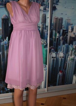 Платье гипюр кружево