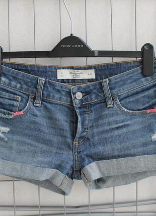Джинсовые шорты abercrombie & fitrch