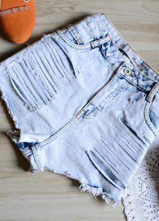 Шорти джинсові варьонки denim co