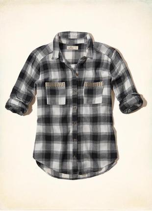 Hollister рубашка фланель