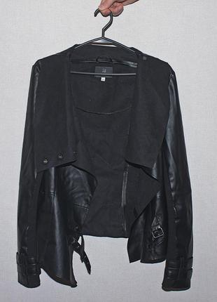 Интересная курточка с шикарным воротником river island