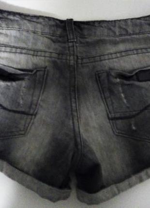 Джинсовый шорты pull & bear